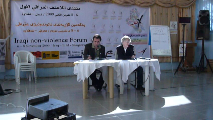 First Iraqi Non First Iraqi Non-Violence Forum